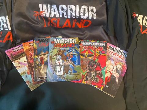 Warrior Island Comics Collection
