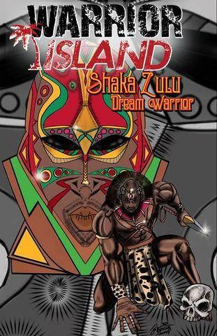 Warrior Island comic Shaka Zulu